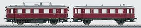 Marklin Class VT 75.9 Diesel Railcar German Federal HO Scale Model Train Diesel Locomotive #37705