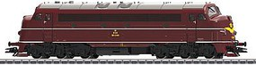 Marklin NOHAB Class MY 1100 Danish State Railways HO Scale Model Train Diesel Locomotive #39670