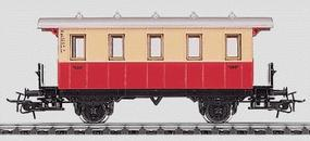 Marklin Local Coach Era I-V - German HO Scale Model Train Passenger Car #4107