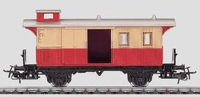 Marklin Local Baggage Car Era 1-V - German HO Scale Model Train Passenger Car #4108