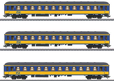 Marklin NS Express Pass 3 Car Set