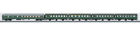 Marklin Rebuilt & Half-Baggage Set German RR HO Scale Model Train Passenger Car #43194
