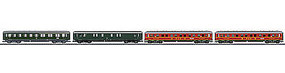 Marklin DB NightTrain 4-Car Set - HO-Scale