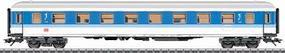 Marklin Era V InterRegio 1st Class - DB AG German Railroad HO Scale Model Train Passenger Car 43500