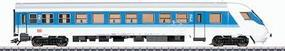 Marklin Era V InterRegio Cab Control Car 2nd Class HO Scale Model Train Passenger Car #43550