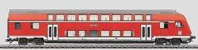 Marklin Bi-Level Cab Control Car HO Scale Model Train Passenger Car #43586