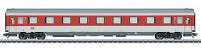 Marklin Type Avmz 107 Compartment Car - 3-Rail Ready to Run German Railroad DB AG (Era V 2001 (white, red, gray)