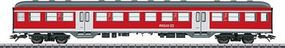 Marklin Silberling/Silver Coin Bnrz 451.0 2nd Class Commuter HO Scale Model Train Passenger Car #43806
