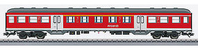 Marklin Silberling/Silver ABnrz 418 1st/2nd Class Commuter HO Scale Model Train Passenger Car #43816