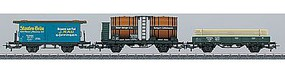 Marklin Royal Wurttemberg Railways 3-Car Set - 3-Rail HO Scale Model Train Freight Car #44140