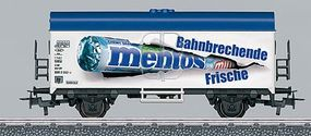 Marklin My World Reefer Car - Ready to Run - Mentos HO Scale Model Train Freight Car #44206
