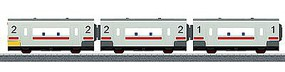 Marklin Passenger 3-Car Set - Kit For Battery Operated Sets HO Scale Model Train Freight Car #44270