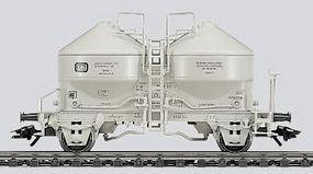 Marklin Silo Container Car DB HO Scale Model Train Freight Car #4661