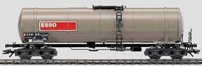 Marklin Four-Tank Axle Car - Esso HO Scale Model Train Freight Car #4754