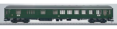 Marklin, Inc Type BD4m-61 Baggage-Coach German Federal Railroad -- HO Scale Model Train Passenger Car -- #58053