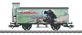 Marklin Wood Boxcar w/Brakemans Cab 2013 Modellbahn Treff HO Scale Model Train Freight Car #58074
