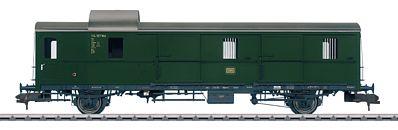 Marklin, Inc Type Pwi Thunder Box Baggage German Federal Railroad -- HO Scale Model Train Passenger Car -- #58194
