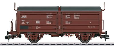 Marklin, Inc Type Tims 858 Sliding Roof/Wall Gondola/Hopper German -- HO Scale Model Train Freight Car -- #58331
