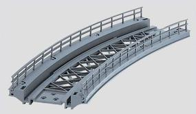 K/M Bridge Ramp14-1/8 Radius HO Scale Model Railroad Bridge #7267