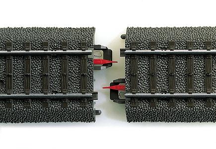 Marklin, Inc (bulk of 5) Marklin Rail Joint Insulator -- HO Scale Nickel Silver Model Train Track Accessory -- #74030