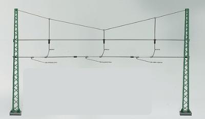 NEW MARKLIN 74103 HO GAUGE 5 × CONCRETE MAST BETONMAST CATENARY OVERHEAD POWER
