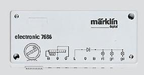 Marklin Digital Retrofit Set for 7286 Turntable HO Scale Model Railroad Electrical Accessory #7687