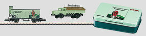 Marklin 2014 Marklin Museum Car Z Scale Model Train Freight Car #80025