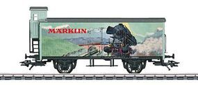 Marklin Wood Boxcar w/Brakemans Cab 2013 Modellbahn Treff Z Scale Model Train Freight Car #80919