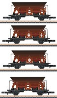 Marklin Coal Trans 4Car Add (EX) - Z-Scale