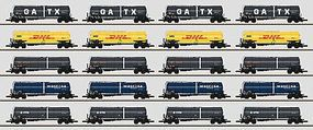 Marklin Era VI Zans/Zacns Tank 20-Car Set Z Scale Model Train Freight Car #82530