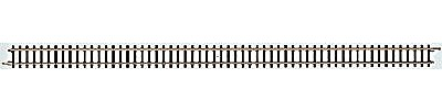 Marklin, Inc (bulk of 10) Bulk of 10 Straight Track - 8-3/16'' 22cm -- Z Scale Nickel Silver Model Train Track -- #8505