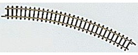 Marklin (bulk of 10) Curved Track - 8-11/16 22cm Radius 30 Degree Z Scale Nickel Silver Model Train Track #8531