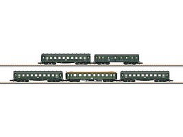 Marklin K.Bay Express 3-Car Set - Z-Scale