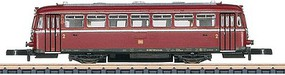 Marklin Class VT 98 Diesel Rail Car - Standard DC German Federal Railroad DB (Era III, red) - Z-Scale
