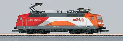 Marklin, Inc Class 120.1 Standard DC German Railroad DB AG -- Z Scale Model Train Electric Locomotive -- #88526