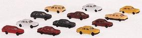 Marklin Automobile set 3 Each Mercedes, Opel, BMW Z Scale Model Railroad Vehicle #8904