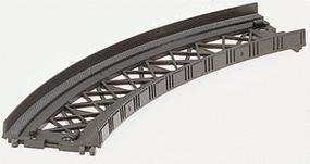 Marklin Bridges - Ramp Curved 5-3/4 Radius 45 Degree (2) Z Scale Model Railroad Brid #8977