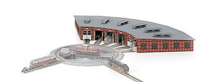 Loco Roundhouse Kit - Z-Scale