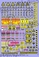 Matho 1/35 Warning Signs & Labels Decals