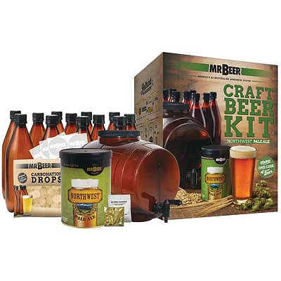 Mr. Beer Northwest Pale Ale Craft Beer Complete Kit