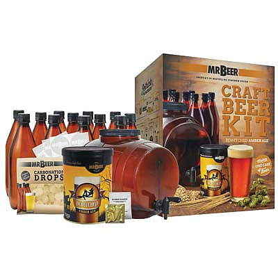 Mr. Beer Mr. Beer Bewitched Amber Ale Craft Beer Compl Kit