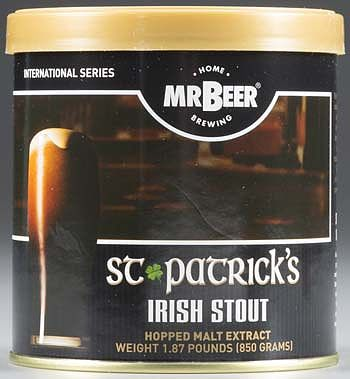 Mr. Beer Mr. Beer St. Patrick's Irish Stout Refill -- Beer and Cider Brewing Kit -- #60965