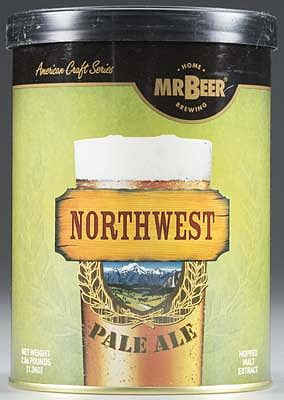 Mr. Beer Mr. Beer Northwest Pale Ale Refill -- Beer and Cider Brewing Kit -- #60976