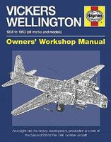 Motorbooks Vickers Wellington 1936-1953 Owners Workshop Manual (Hardback) Model Instruction Manual #2301