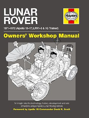 Motorbooks International Lunar Rover 1971-1972 Owners Workshop Manual (Hardback) -- Model Instruction Manual -- #2677
