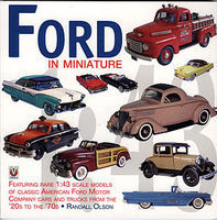 Motorbooks Ford in Miniature Model Instruction Manual #275