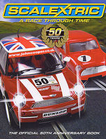 Motorbooks Scalextric A Race Through Time 50 Years (Hardback) Model Instruction Manual #4156