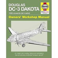 Motorbooks Douglas DC3 Dakota 1935 Onwards Owners Workshop Manual Model Instruction Manual #42916