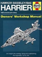 Motorbooks Hawker Siddeley/BAe Harrier 1960 Onwards Owners Workshop Manual Model Instruction Manual #796