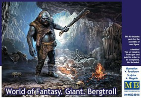 Master-Box 1/24 World of Fantasy- Giant Bergtroll